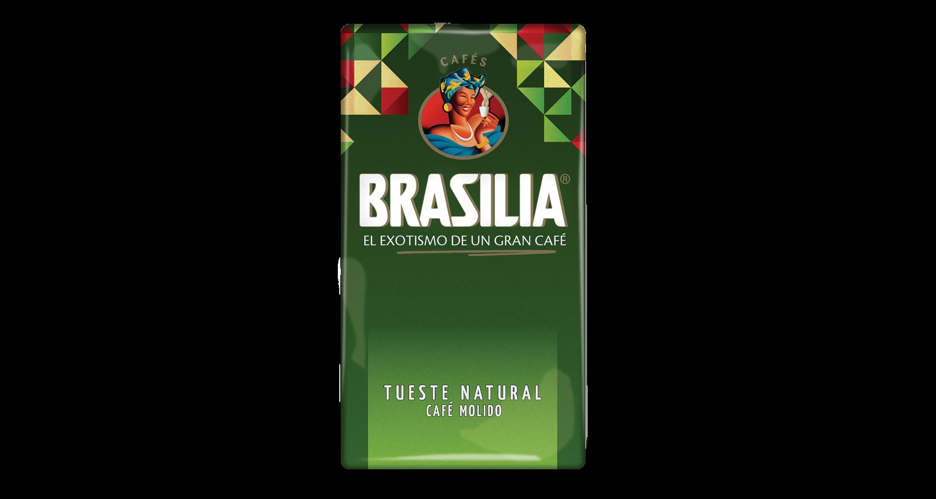 Mletá káva Brasilia