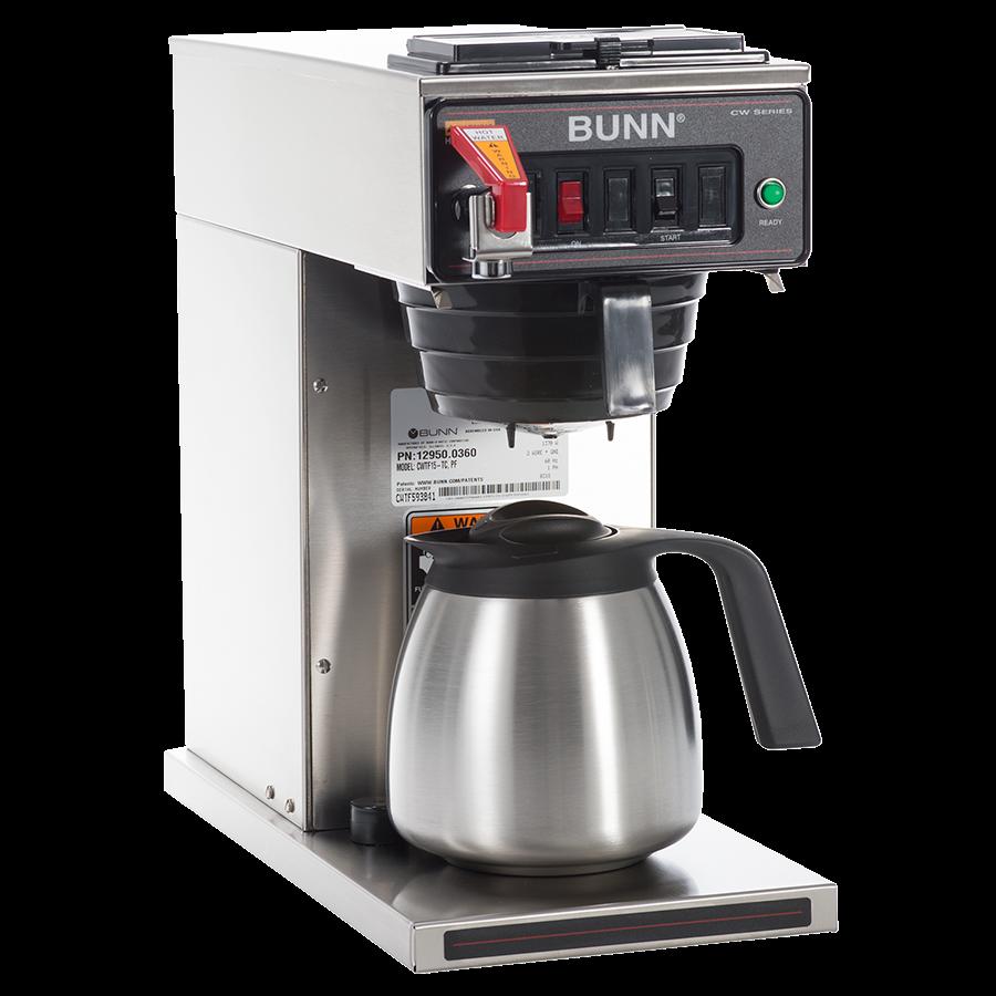 Stroj na přípravu filtrované kávy Bunn CWTFA-TC