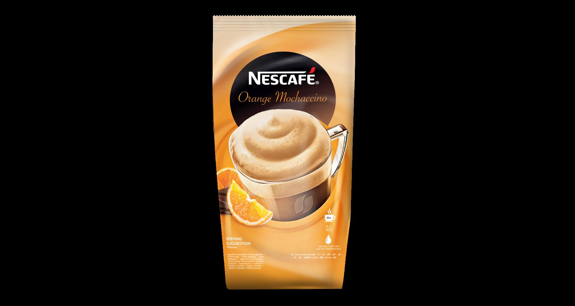 Nescafé Orange Mochaccino