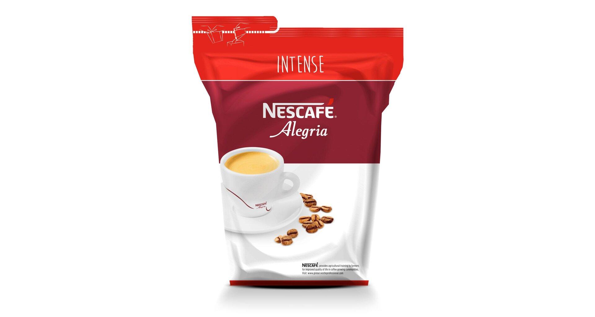 Instantní káva Alegria Intense