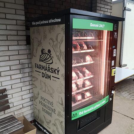 Nové automaty a výdejní boxy pro farmářské produkty