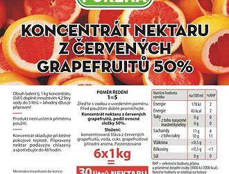 100% džusy, nektary a nápoje
